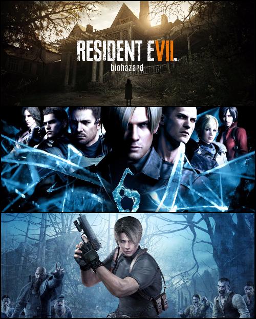 [PS4]Подборка игр Resident Evil...