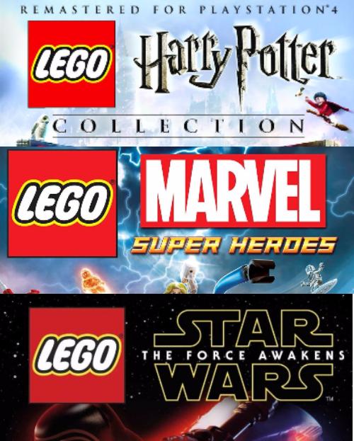 [PS4]Коллекция игр серии LEGO...