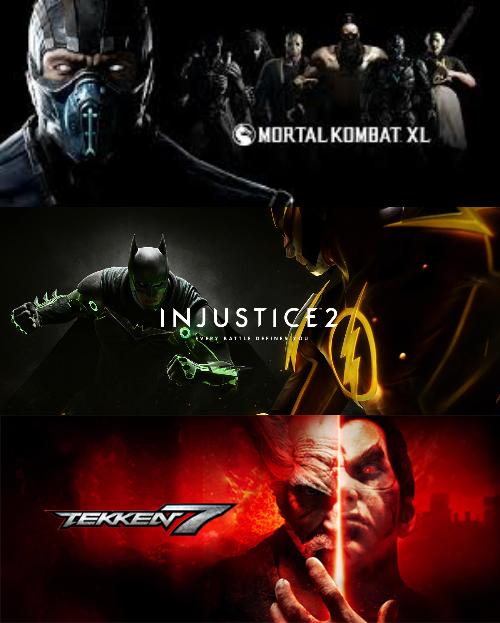[PS4]Подборка игр: Файтинги...