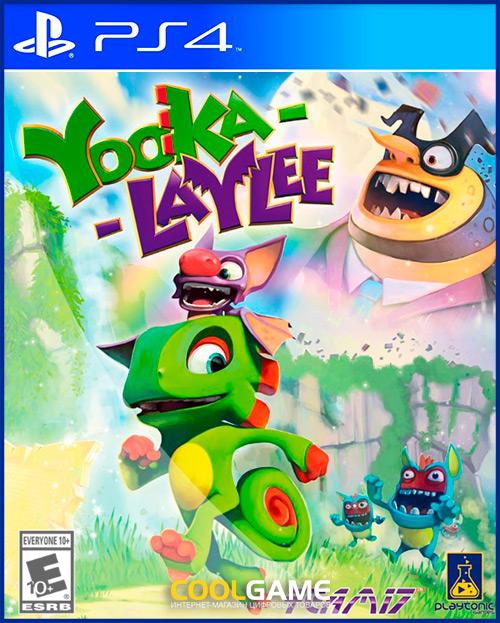 [PS4]Yooka-Laylee