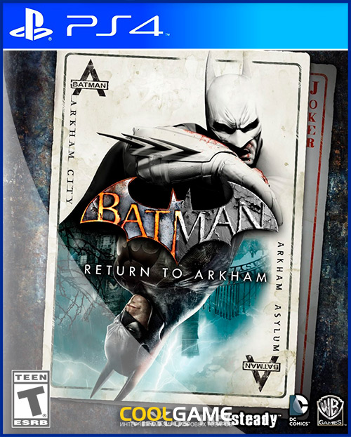 Batman: Return to Arkham Аренда игр...