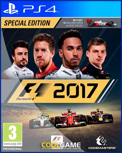 F1 2017 Аренда игры 10 дней...