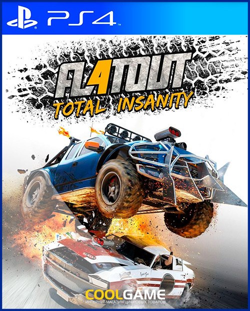[PS4]FlatOut 4: Total Insanity