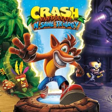 Crash Bandicoot™ N. Sane Trilogy Прокат игры 10 дней