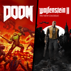 DOOM + Wolfenstein II Bundle Продаж...