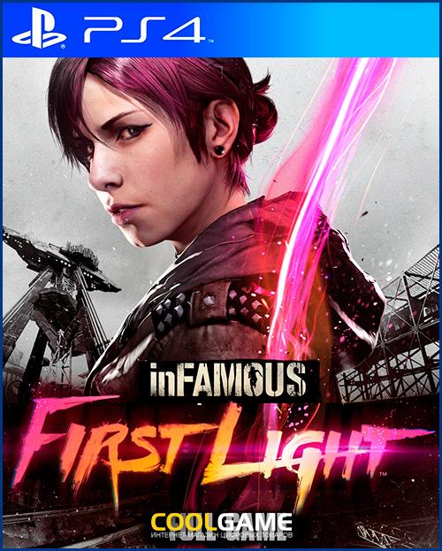 inFAMOUS First Light Прокат игры 10...