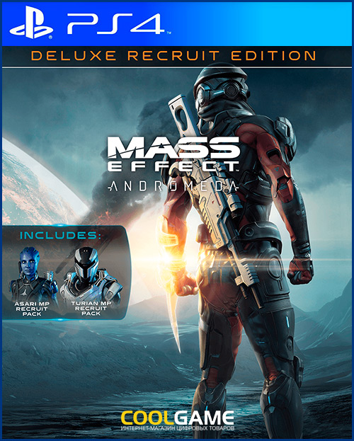 Mass Effect: Andromeda - издание рекрута Deluxe Продажа игры