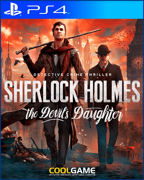 Sherlock Holmes : The Devil's Daugh...