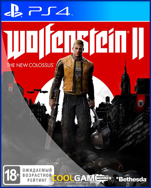 [PS4]Wolfenstein II: The New Coloss...